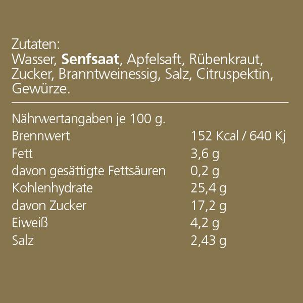 Duprès Rübenberger Senf
